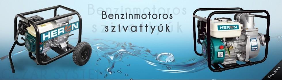 Benzinesszivattyú